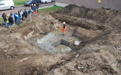 Archeologische waardestelling Bagijnenwalstraat in Gorinchem, gemeente Gorinchem
